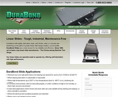 Manufacturing Website Design Portfolio Colorado