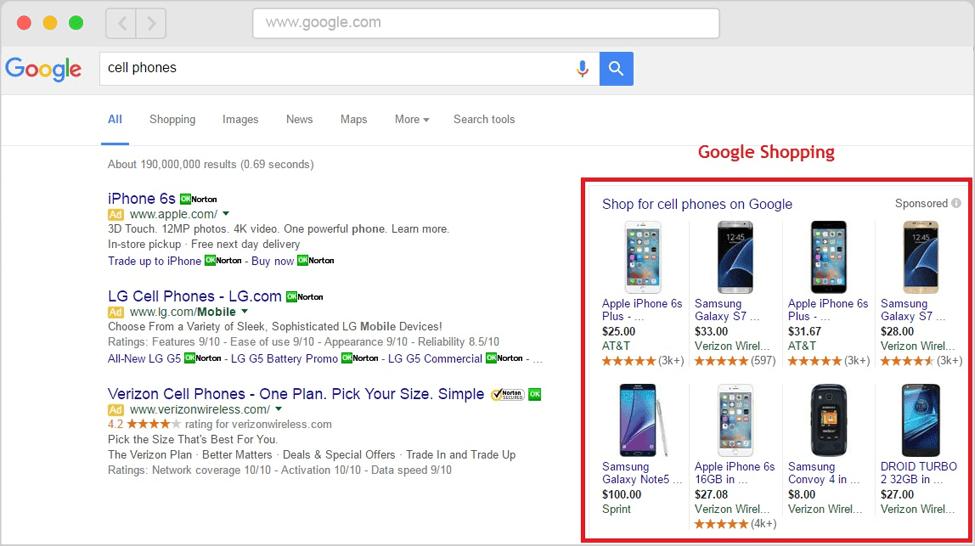 google-shopping-e-commerce-web-designers-developers