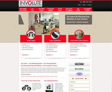 Industrial Web Design Portfolio Colorado
