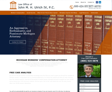 Lawyer Website Design Portfolio Colorado