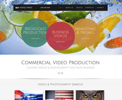 Corporate Website Design Portfolio Colorado