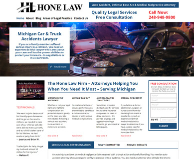 Website Designers for Attorneys Portfolio Colorado
