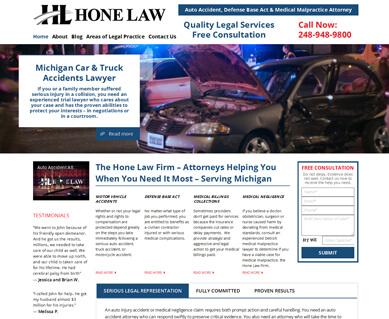 Website Designers for Attorneys Portfolio Colorado